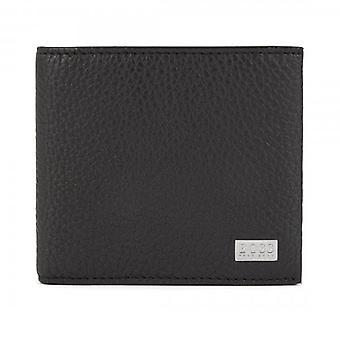Hugo Boss Crosstown 4 CC Black Leather Wallet 50390403