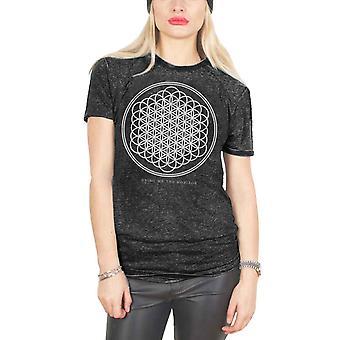 Bring Me The Horizon T Shirt Sempiternal logo Official Womens Snow Wash black
