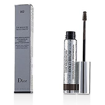 Christian Dior Diorshow Bold Brow Instant Volumizing Brow Mascara - 002 Dunkel 5ml/0,16 Oz