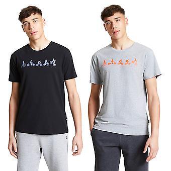 Dare 2b hombres integrar camiseta de algodón ligero