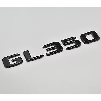 Gloss Black GL350 Flat Mercedes Benz Car Model Numbers Letters Badge Emblem For GLClass X164 X166 X167 AMG
