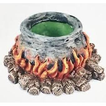 Exo Terra Fluorescent Pot (Reptiles , Decoration , Caves & Rocks)