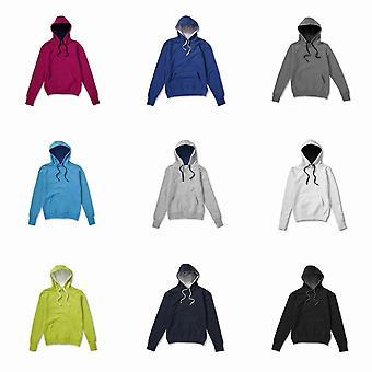 SG Mens Contrast Hooded Sweatshirt / Hoodie