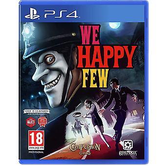 Nós feliz jogo PS4 poucos