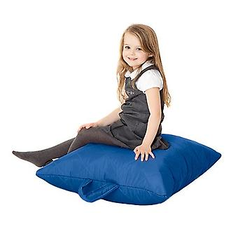 Fun!ture Kinder gesteppte Platte Bean Bag | Outdoor Indoor Wohnzimmer Kinder Platz Sitzsack Sitzgelegenheiten | Wasserdicht | Lebendige Play Kinder Farbe Sitz | Hohe Qualität & bequem (Blau)
