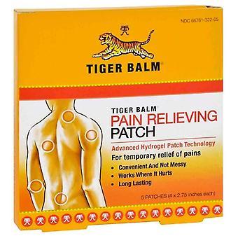 Tiger balsam smertestillende oppdateringen, 4 tommer x 2.75 tommer, 5 ea