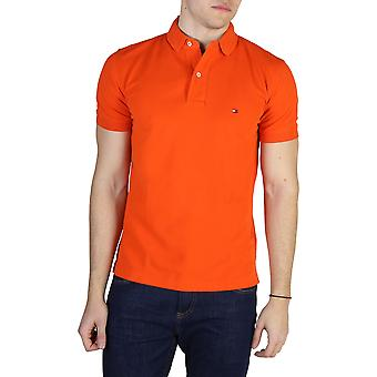 Tommy Hilfiger Original Men Spring/Summer Polo - Orange Color 40622