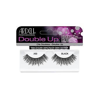 Ardell Double Up False Eyelashes Black 203