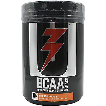 Universal Nutrition BCAA Stack Dietary Supplement - 100 portions - Orange Splash