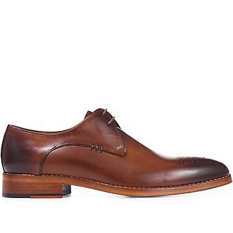 Jones Bootmaker Mens Lederen Derby Schoen