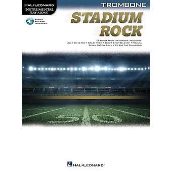 Stadium Rock  Trombone by Adapted by Peter Deneff & Hal Leonard Corp