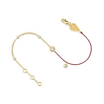 Bracelet Constellation Couture 18K Gold and Diamonds - Yellow Gold, BluePetrol