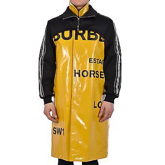 Burberry 8024092a1453 Uomini's Giacca Esteriore di cotone giallo/nero