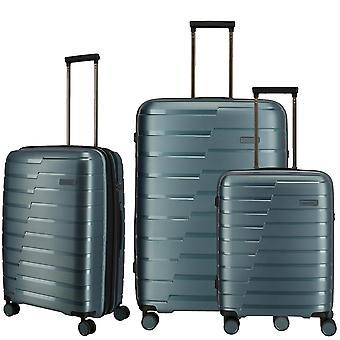 travelite Air Base Suitcase Set 3-delige S-M-L, Blauw