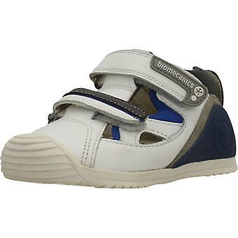 Biomecanics Schuhe Sandale Sauvage Weiß