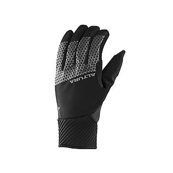 2018 Altura Night Vision 4 Windproof Cycling Gloves Black/Hi-Viz Yellow