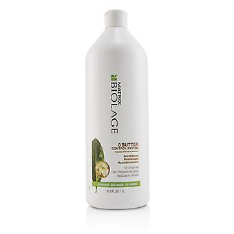 Biolage 3 butter control system conditioner (for unruly hair) 222746 1000ml/33.8oz