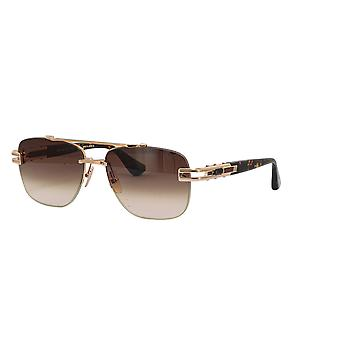 DITA Grand-Evo one DTS138 B White Gold-Brown/Dark Brown Gradient Sunglasses