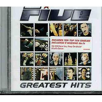 Five - Greatest Hits [CD] USA import