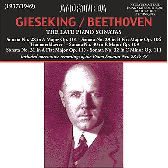 Beethoven / Gieseking - Klaviersonaten 28-32 Saarbruck [CD] USA import