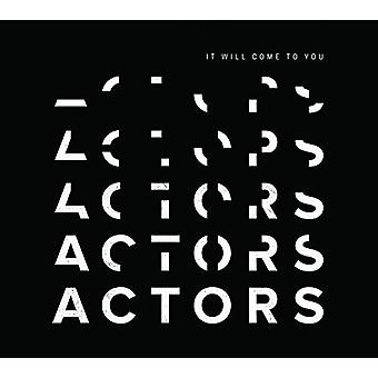 Actors - It Will Come to You [CD] USA import