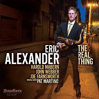 Eric Alexander - The Real Thing [CD] USA import