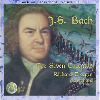 J.s. Bach - j.s. Bach: Die sieben Toccaten [CD] USA import