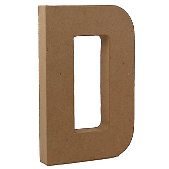 20.5cm Papier Letter Shape for Decoupage – D