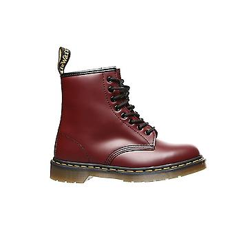 Dr Martens Cherry Red Smooth 11822600 chaussures universelles pour hommes d'hiver