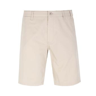 Norse Projects Aros Light Twill Oatmeal Shorts