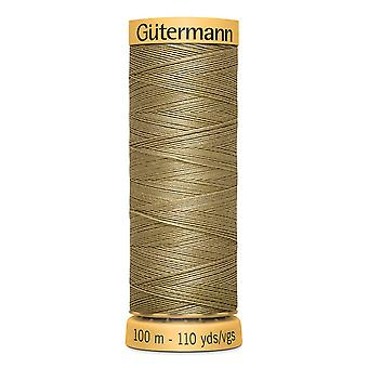 Gutermann 100% naturlig bomuldstråd 100m hånd- og maskinfarvekode - 1026