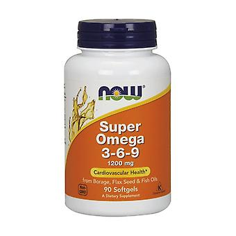 Super Omega 3-6-9 1200 mg 90 softgels of 1200mg