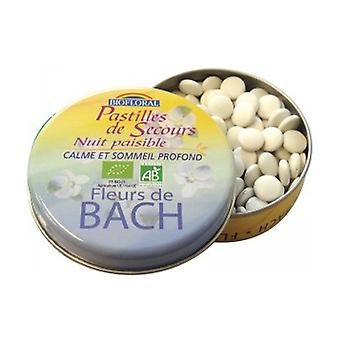 Peaceful Night Rescue Tablets Organic Family Size 50 g (Orange)