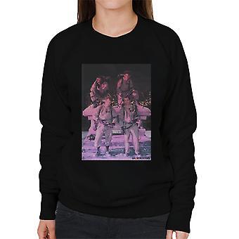 Ghostbusters Crew Pink foto kvinnor ' s Sweatshirt