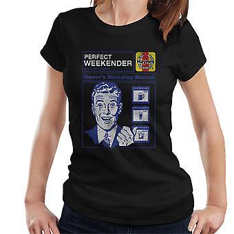 Haynes Perfekt Weekender Workshop Manual Kvinner's T-skjorte