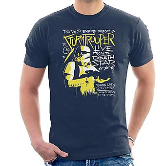 Star Wars Live From The Death Star Men's Camiseta
