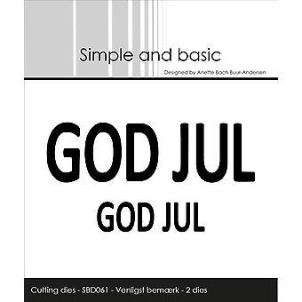 Simple and Basic God Jul Dies