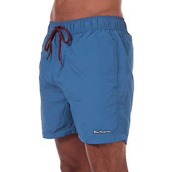 Men-apos;s Ben Sherman South Beach Swim Shorts en bleu