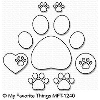 My Favorite Things Paw Prints Die-Namics