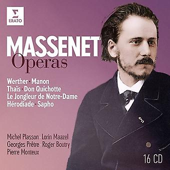 Plasson*Michel / Pretre*Georges / Maazel*Lorin - Massenet Operas [CD] USA import