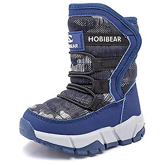 UBFEN Kids Women Snow Boots Girls Winter Warm Waterproof Outdoor Slip Resista...