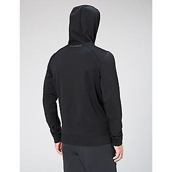 Peak Velocity Men's Quantum Fleece Pull-Over Loose-Fit Hoodie, svart, X-Large