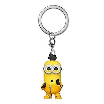 Minions 2 Rise of Gru Kevin Kung Fu Pocket Pop! Keychain