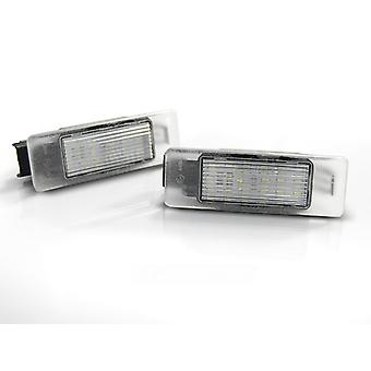 Illuminazione targa LED PEUGEOT 106 307 308 406 407 CITROEN C3 C4 C5 LED