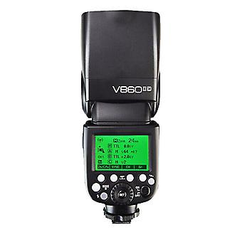 Kamera Flash Ttl Godox V860ii-c 2.4g 60gn 1 / 8000s For Canon