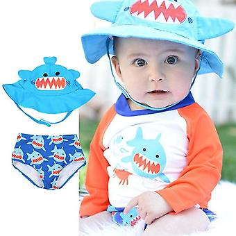 Cute Baby Clothes, Reusable Sun Hat & Swim Diaper With Upf Protection