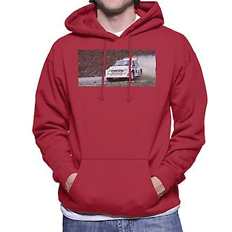 MG Metro 6R4 Drifting British Motor Heritage Men's Hooded Sweatshirt