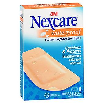 Nexcare Bandages Active Extra Cushion Knee And Elbow, 8 chacun