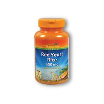 Thompson Red Yeast Rice, 600 mg, 100 Caps