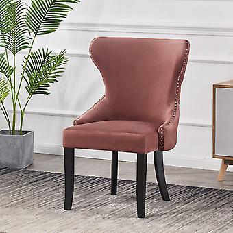Madison Lux Velvet Dining Chair Pink